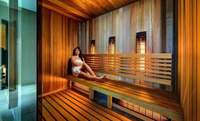 Infra-sauny